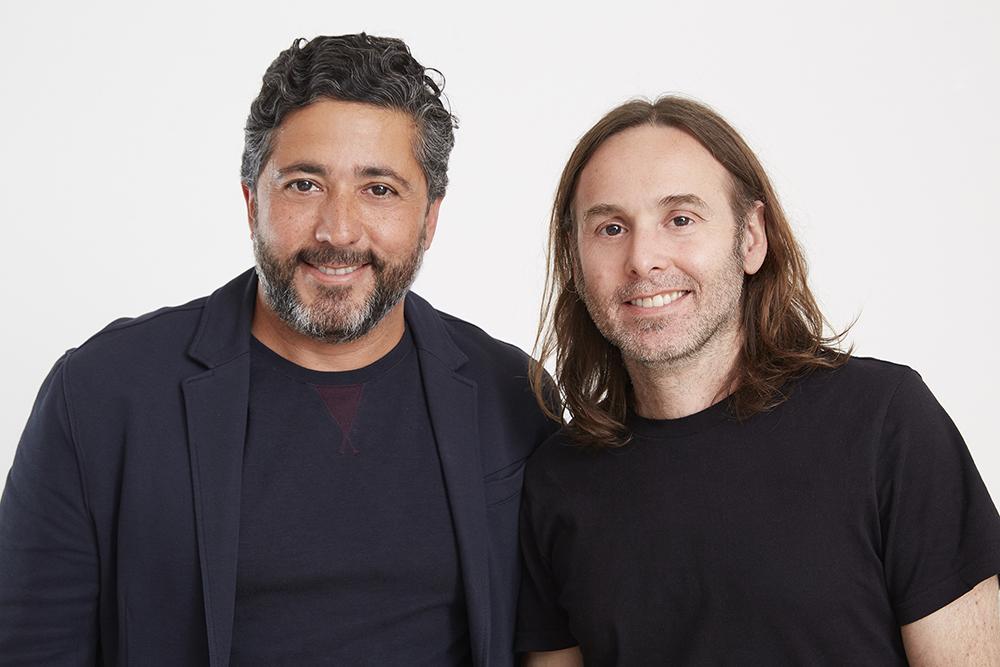 Papon Ricciarelli y Joaquin Cubria