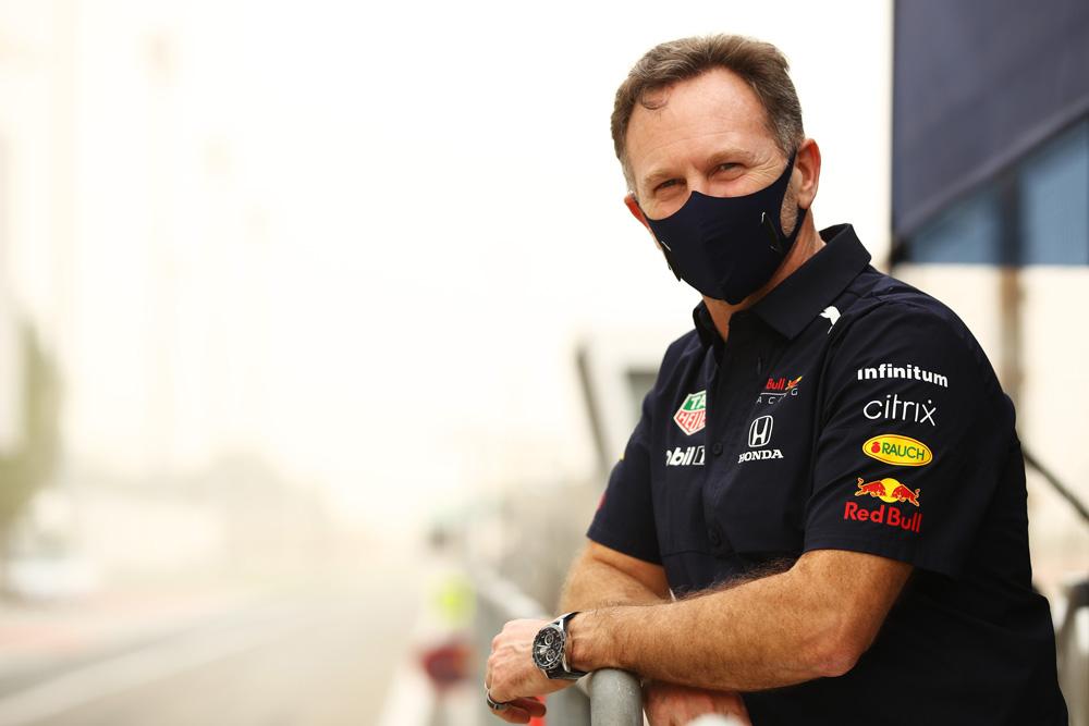 Christian Horner, Director del equipo Red Bull Racing Honda